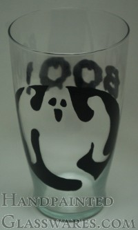 Boo Ghost Beer Glass